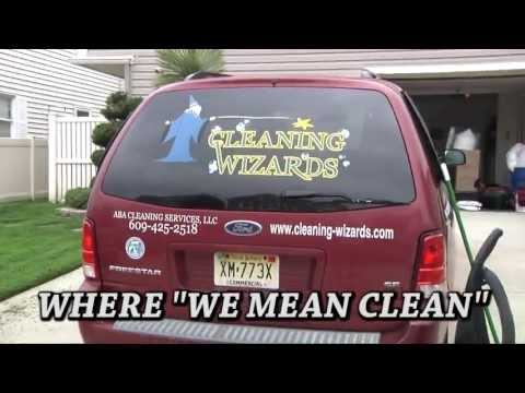 CLEANING WIZARDS cleaning service. EHT, Ocean, Sea Isle, Atlantic City, Avalon and more...