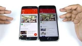 Galaxy S7 Edge vs iPhone 6S Plus -SPEED TEST! (Do Watch)