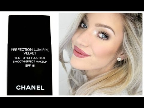 CHANEL Perfection Lumiere Velvet Foundation - Review & Demo | Stephanie Lange