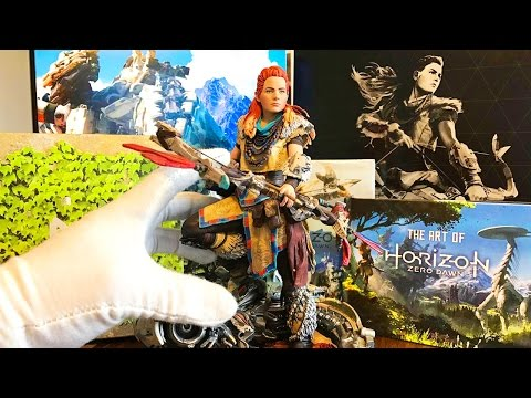 HORIZON ZERO DAWN : notre UNBOXING de l'édition collector + press kit officiel