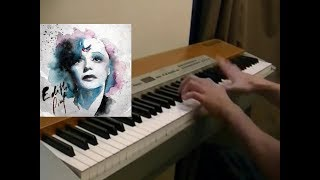 Edith Piaf - La foule piano