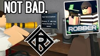 Robber (Beta) gameplay by ROLVE | ROBLOX