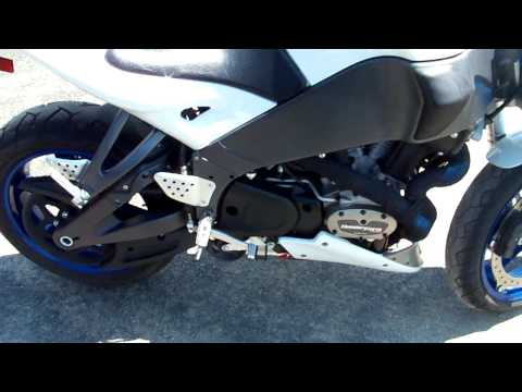 Buell 1125CR sound test jardine RT5 carbon exhaust | FunnyDog TV