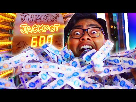 100% WIN RATE JACKPOT! 5000 TICKETS! | Arcade Hacks Tutorial