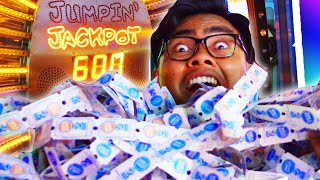 100% WIN RATE JACKPOT! 5000 TICKETS! | Arcade Hacks Tutorial(Watch as I teach you more hacks at the arcade! Wanna learn how to ALWAYS win that jump rope game? Subscribe and become a GUAV!, 2016-04-30T19:00:01.000Z)