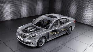 Hyundai Equus (Centennial).  Технические особенности модели.