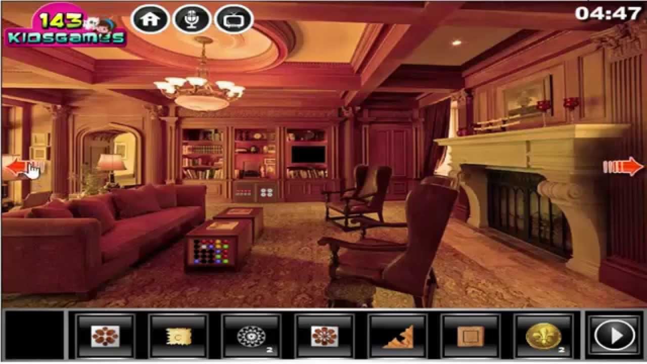 Victorian Mansion Escape Walkthrough 143kidsgames Youtube