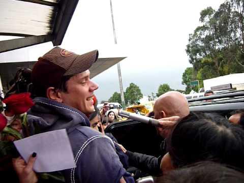 Llegada david miller il divo bogot colombia 30 octubre - Il divo david miller ...