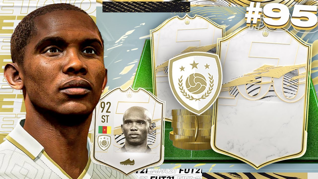 MY FINAL ICON PACK!! - ETO'O'S EXCELLENCE #95 (FIFA 21)