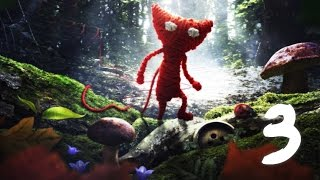 "Unravel Walkthrough Part 3 ""Berry Mire"" No Commentary 1080p 60FPS"