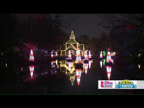 Wild Winter Lights illuminate Cleveland Metroparks Zoo this holiday season