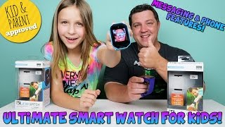 Kurio Watch The Ultimate Smart Watch for Kids! Messaging & Phone Features!