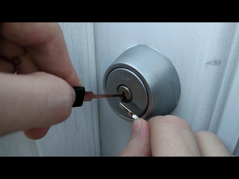 Lockpicking For Urban Survival Black Scout Survival Youtube