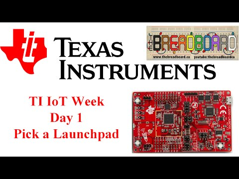 TI IoT Week, Sensor Node Project Part 1