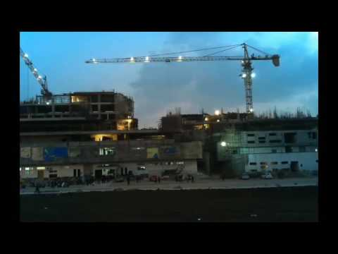 Academic Pods during construction | Timlapse Video | Memories | IIT Indore|