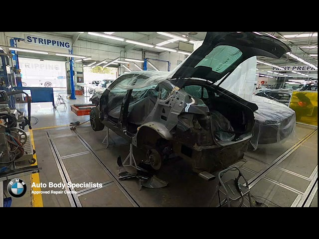 BMW F26 Left Rear Fender Replacement