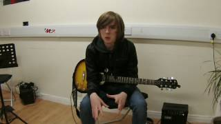 Guitar Lessons Testimonial. Calum Flaherty . Rocket Music School