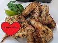 CILANTRO AND LIME CHICKEN WINGS AIR FRYER