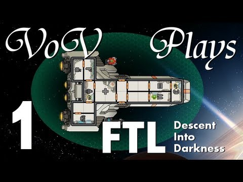 VoV Plays FTL Mods - Descent Into Darkness - Part 1: Choices, Choices, Choices...