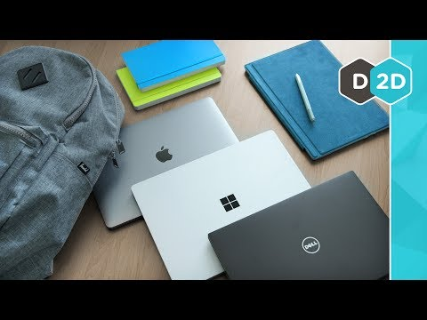 Thumbnail: MacBook vs Surface Pro - The Best Laptop for Students 2017!