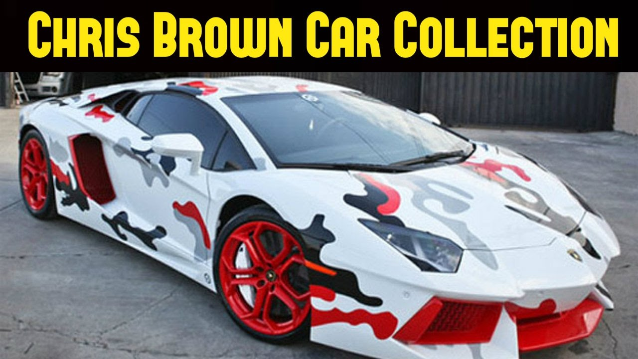 Chris Brown Car Collection 2017 - YouTube