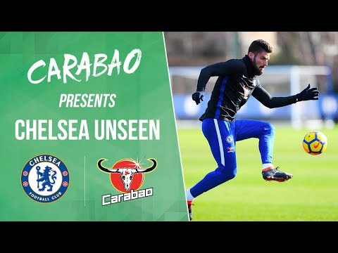 Giroud & Emerson Meet The Fans And All Access To Their First Training Session  | Unseen