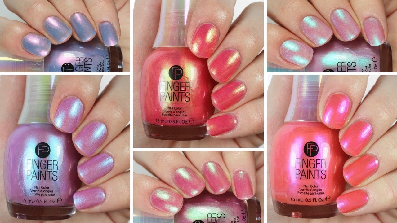 Finger Paints The Fantasy Collection Swatch And Review