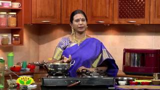 """Wheat Inippu Seedai & Rava Milagu Seedai"" Arusuvai Neram – Jaya TV cookery program"