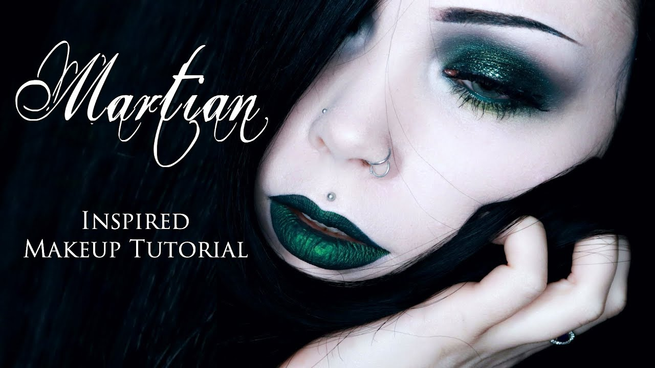 MARTIAN - Cosmic Eye Dust || Inspired Makeup Tutorial | ReeRee Phillips