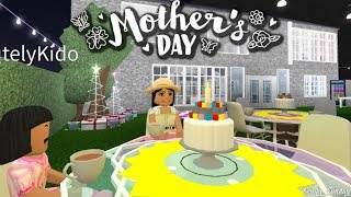 Mom & Daughter Mother's Day!!! | Roblox Bloxburg