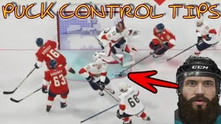 NHL 20 Puck Control Tips