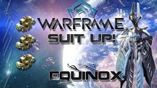 suit up warframe e11 equinox