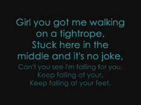 JLS- Tightrope, with lyrics