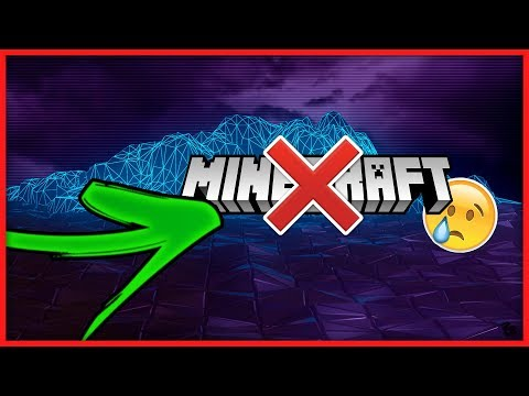 I STOP MINECRAFT