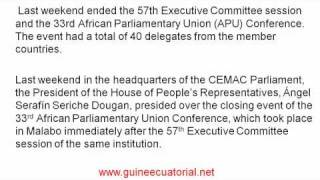 africa parlament union in equatoria guinea