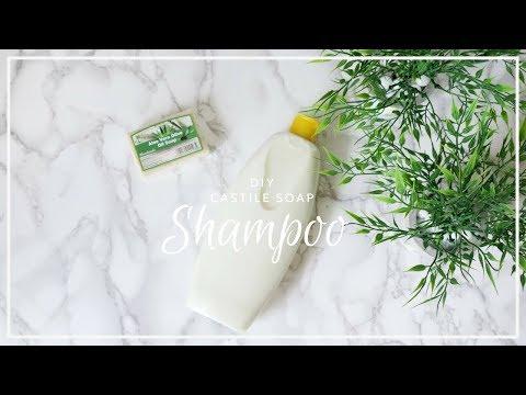 DIY Castile Soap Shampoo