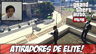 GTA V - Um Verdadeiro ATIRADOR DE ELITE! Fuga na Prisão! (DLC Heists) (Ps4)