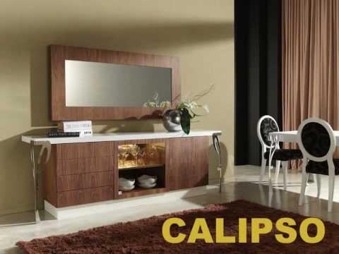 Muebles aparadores diseño auxiliares ANZADI - YouTube