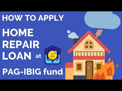 How To Apply Home Repair Improvement Loan At PAGIBIG FUND HMDF