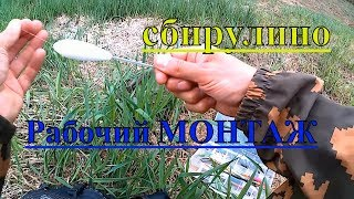 #Бомбарда монтаж снасти!#Ловля на майского жука!