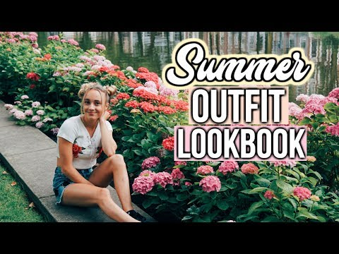 Summer Outfit Lookbook in Amsterdam