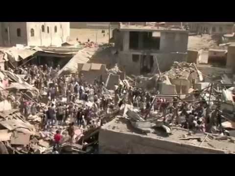 At least nine dead in Sanaa market bombing, locals say