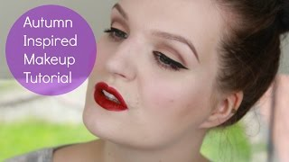 Autumn Inspired Makeup Tutorial | LiddieLoo Thumbnail