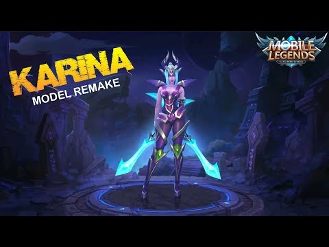 KARINA MODEL REMAKE FIRST LOOK at Next Update – Mobile Legends