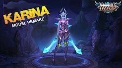 KARINA MODEL REMAKE FIRST LOOK at Next Update – Mobile Legends