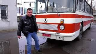Автобус ЛАЗ 699 Турист с минимальным пробегом. Люкс по советски.