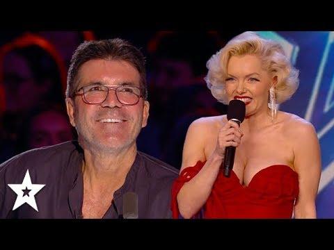 A REAL MARILYN MONROE on Britain's Got Talent 2020? | Got Talent Global