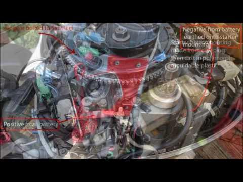 Converting Honda BF8D to electric start