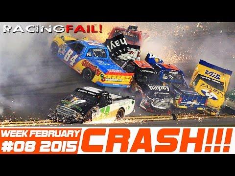 Racing and Rally Crash Compilation Week 8 February 2015