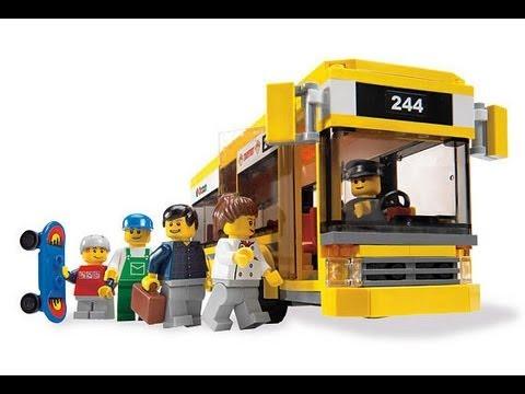 Lego City Bus Stop Youtube